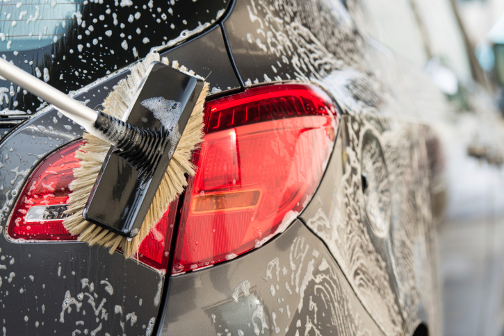 Washing your car